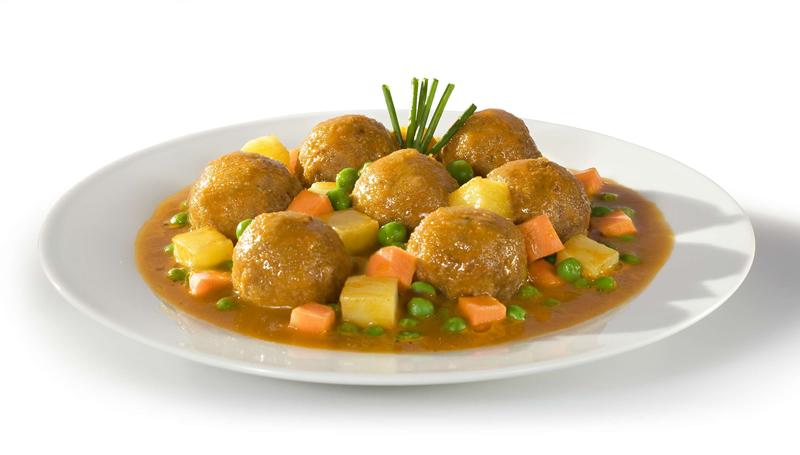 Albondigas con verduras - Albondigas con verduras ...
