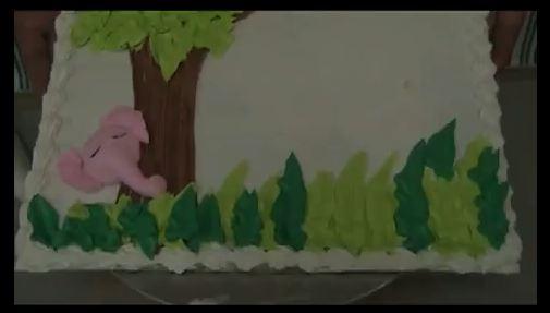 Como decorar un pastel - Como decorar un estanque ...