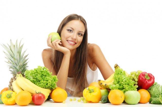 fruta para la piel