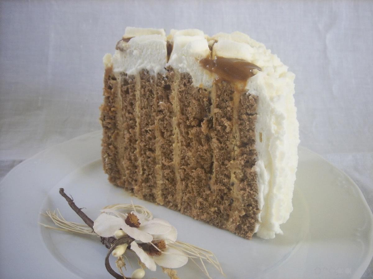Torta espiral de dulce de leche y chocolate | Lasrecetasdelchef.com